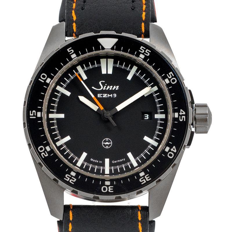SINN Instrument Watches 949.010-Leather-CIIC-Blk-CSO