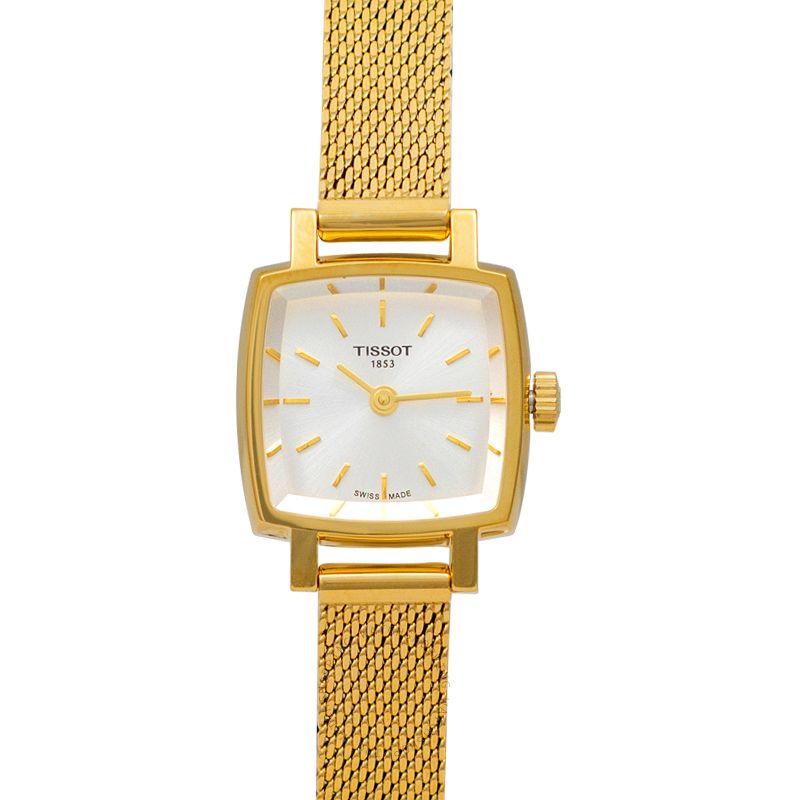 Tissot T-Lady Quartz Silver Dial Women's Watch