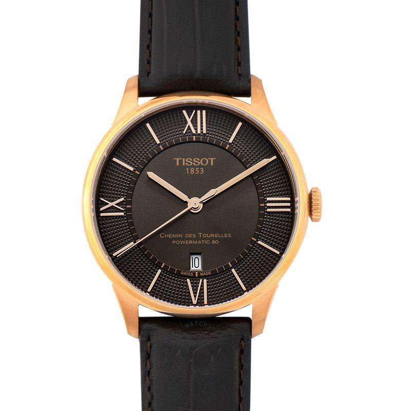 Tissot T-Classic Automatic Bronze Dial Men's Watch