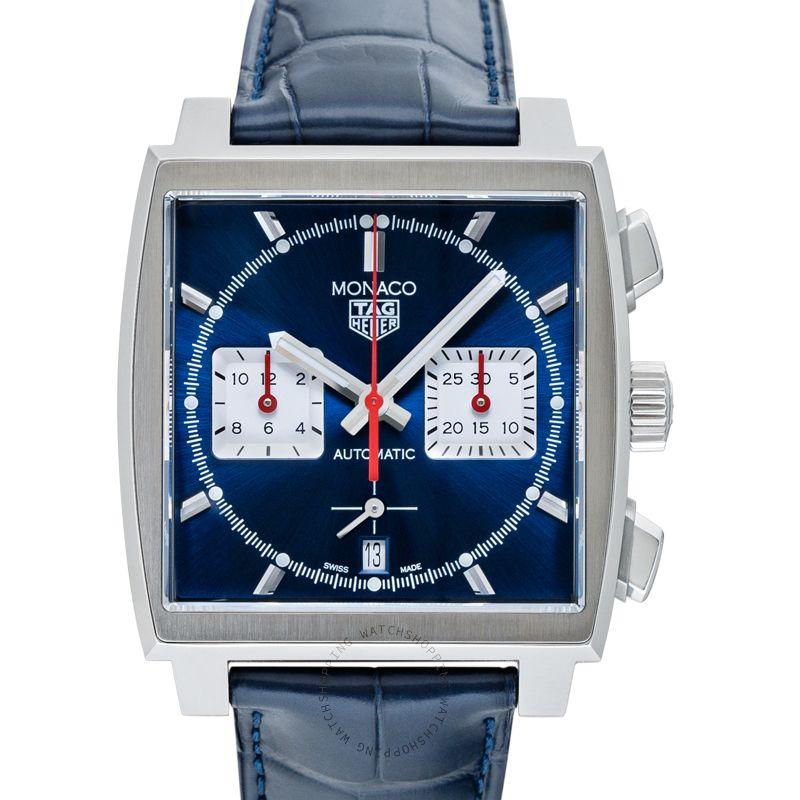 TAG Heuer Monaco Calibre Heuer 02 Automatic Blue Dial Men's Watch CBL2111.FC6453