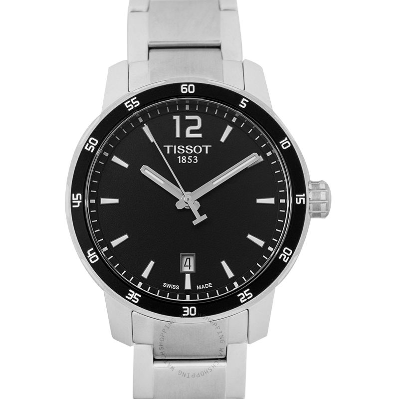 Tissot T-Sport Quartz Black Dial Men's Watch T095.410.11.057.00