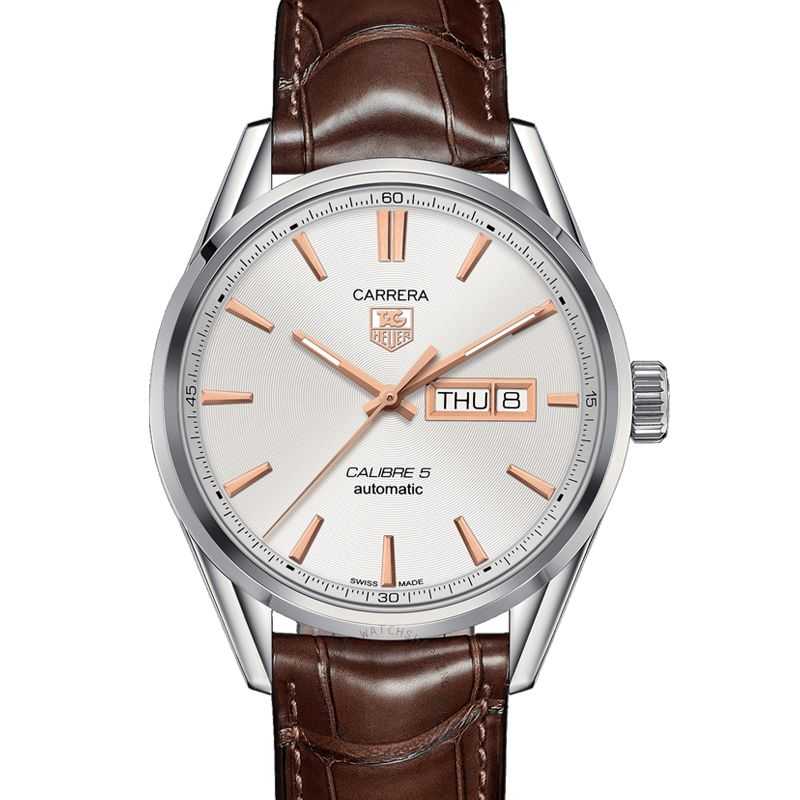 TAG Heuer Carrera Automatic White Dial Men's Watch