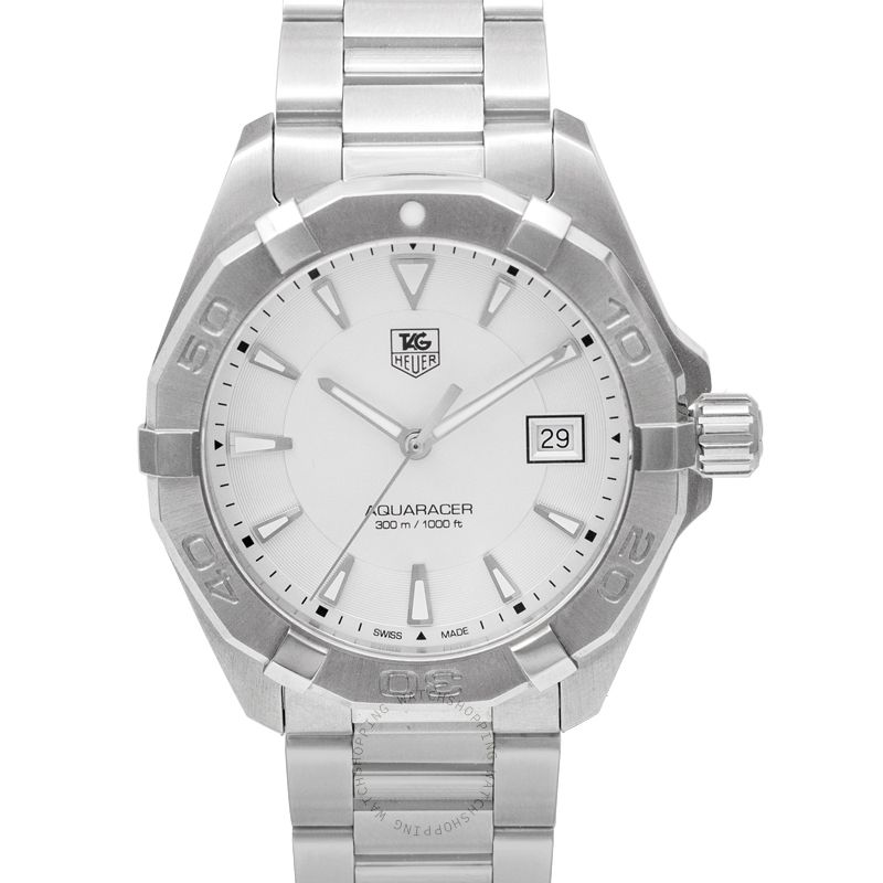 TAG Heuer Aquaracer Quartz Silver Dial Men's Watch