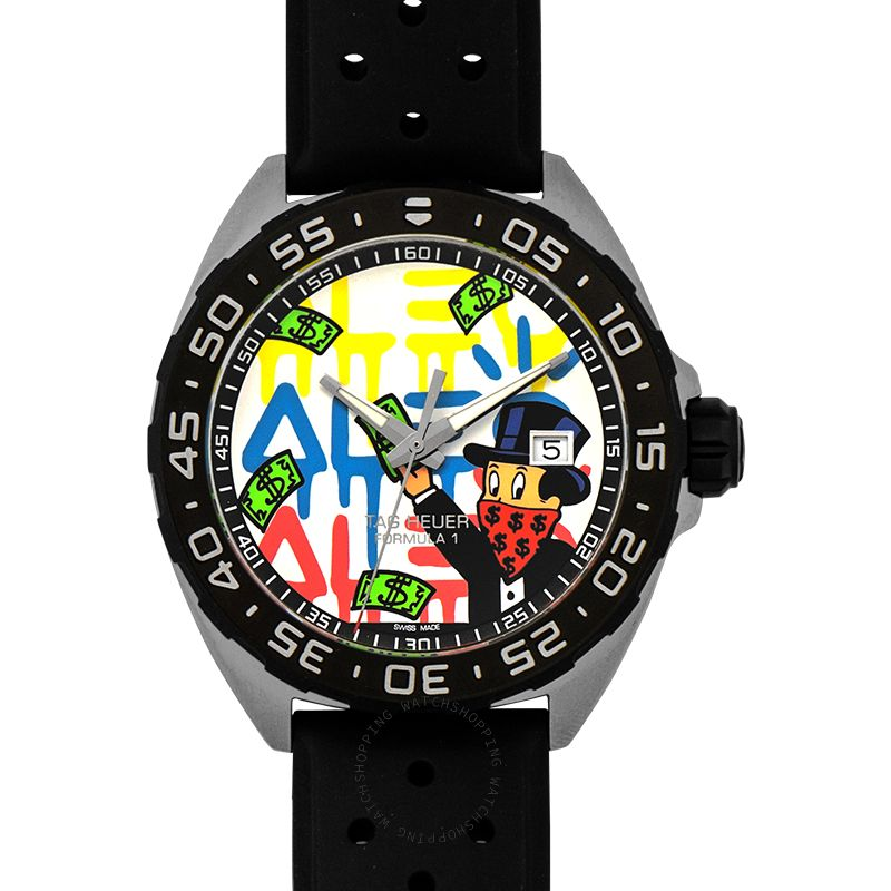 TAG Heuer Formula 1 3-hand Alec Monopoly Multicolored Dial Men's Watch