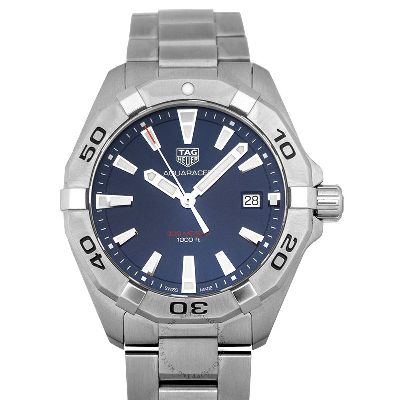 TAG Heuer Aquaracer Quartz Blue Dial Men's Watch