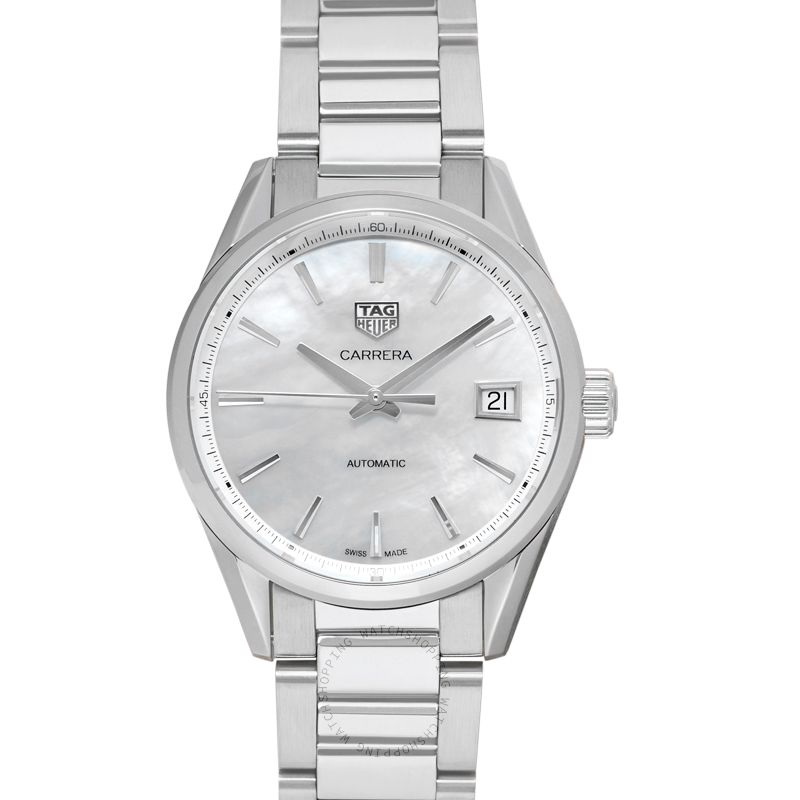 TAG Heuer Carrera Calibre 5 Ladies Automatic White Dial Ladies Watch