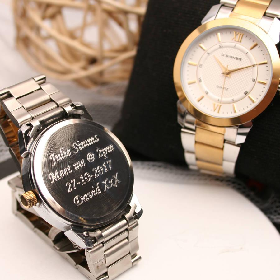 Custom Watches: Make Your Gifts More Meaningful