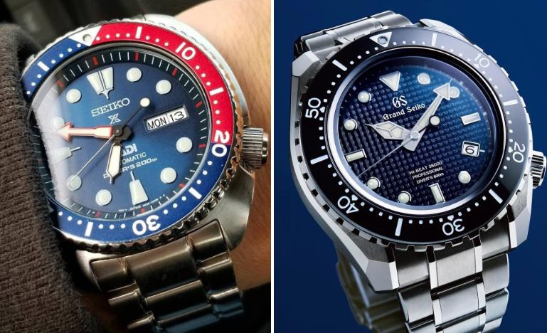 The Differences Between Seiko and Grand Seiko Watches | WatchShopping.com