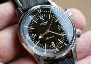 Longines Legend Diver,the Perfect Diver's Watch
