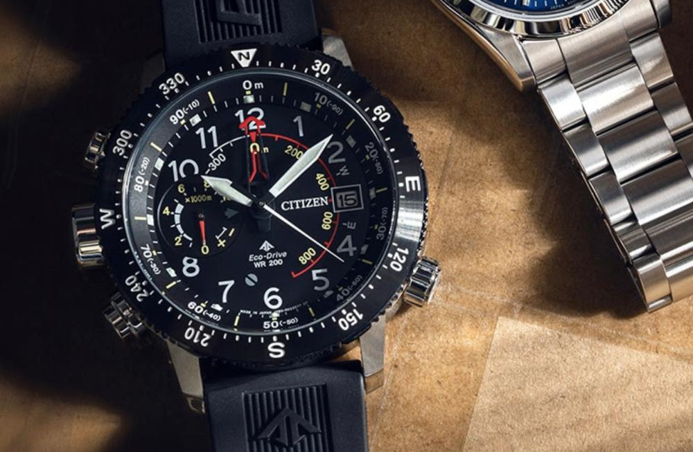 Closer Look at the Citizen Promaster Watch Collection