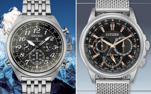 Seiko Watches vs. Citizen Watches
