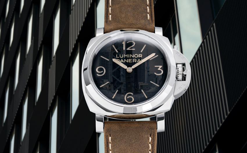 Hands-On with the Panerai Luminor