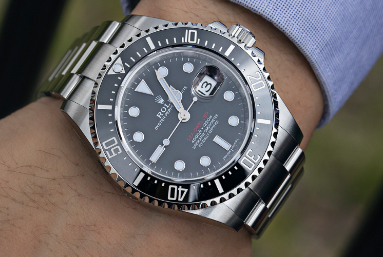 Rolex Sea-Dweller Is a Sure Thing