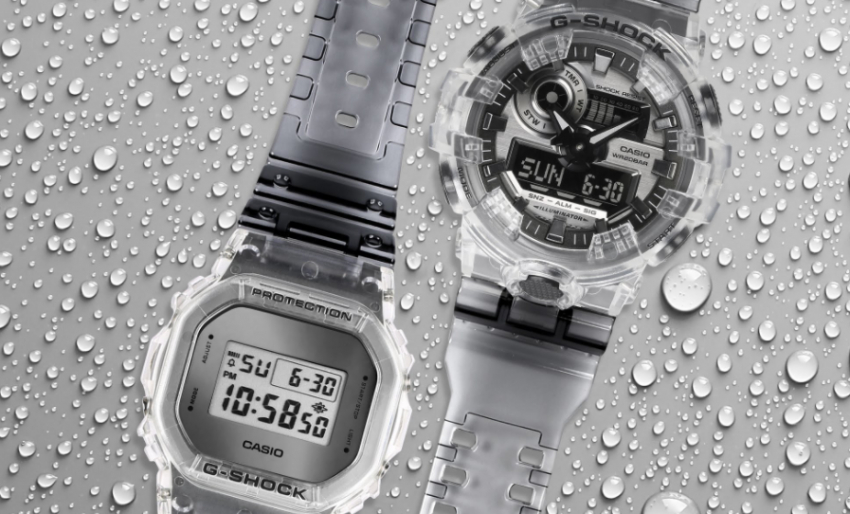 Casio G-Shock Watches: Skeleton Series