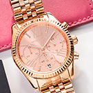 Rose Gold Michael Kors