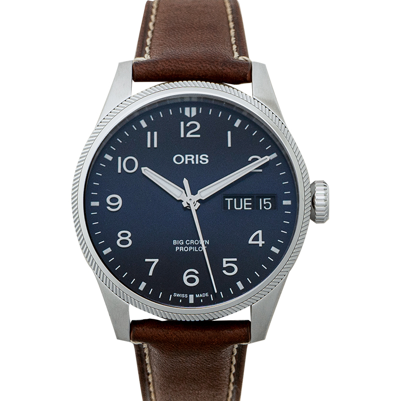Big Crown ProPilot Big Day Date Automatic Blue Dial Men's Watch